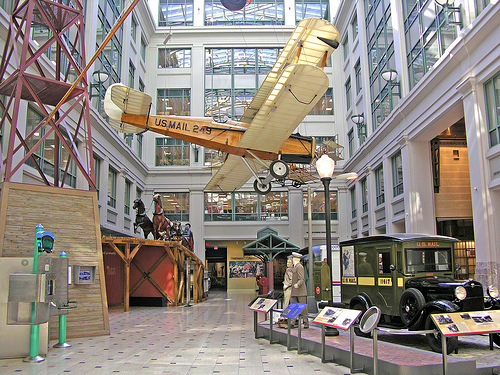 Hidden Gems of Washington DC - national postal musuem