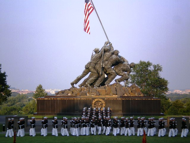 Hidden Gems of Washington DC - Silent Drill Iwo Jima