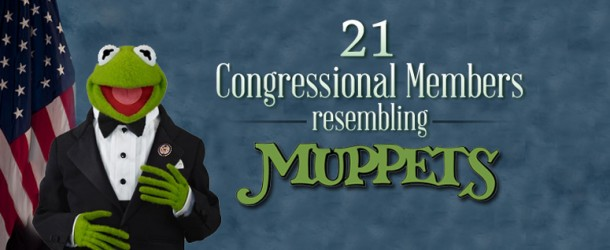 21 Muppets in Congress