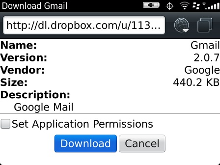 Enhanced gmail plugin for blackberry now available! | crackberry. Com.