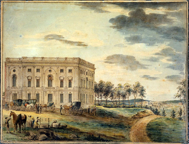 Why did they choose DC to build the Capitol building?