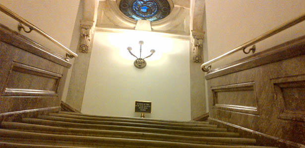 10 Ghost Stories of the US Capitol - Bloody Stairs