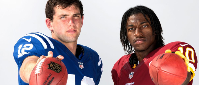 Who is the better Quarterback? Andrew Luck or RG3