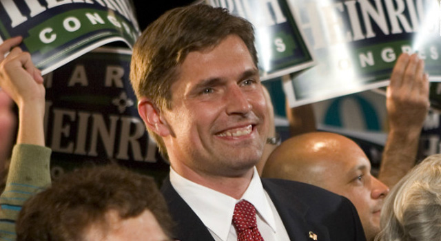 Martin Heinrich - Newley Elected US Senator of the 113 Congress