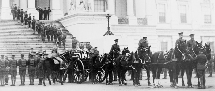 Tomb of the Unknown Soldier (Nov 11 1921)