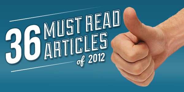 36 Must Read Articles of 2012