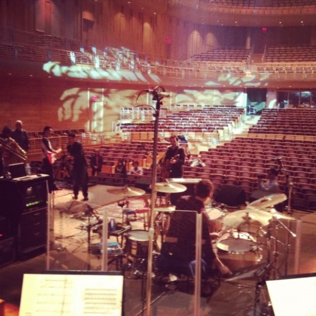 Rehearsing with Beethoven's Found Philharmonic the first time