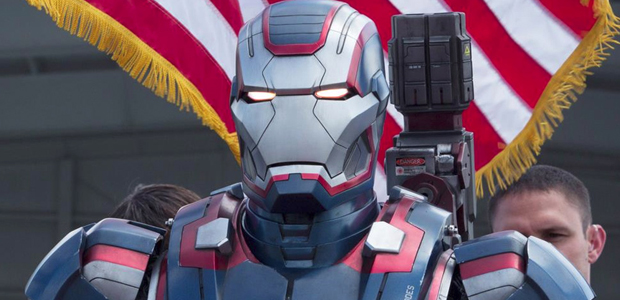 Fancy! His new American Patriot armor.