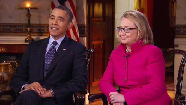 Obama and Hilary Interview on 60 Minutes