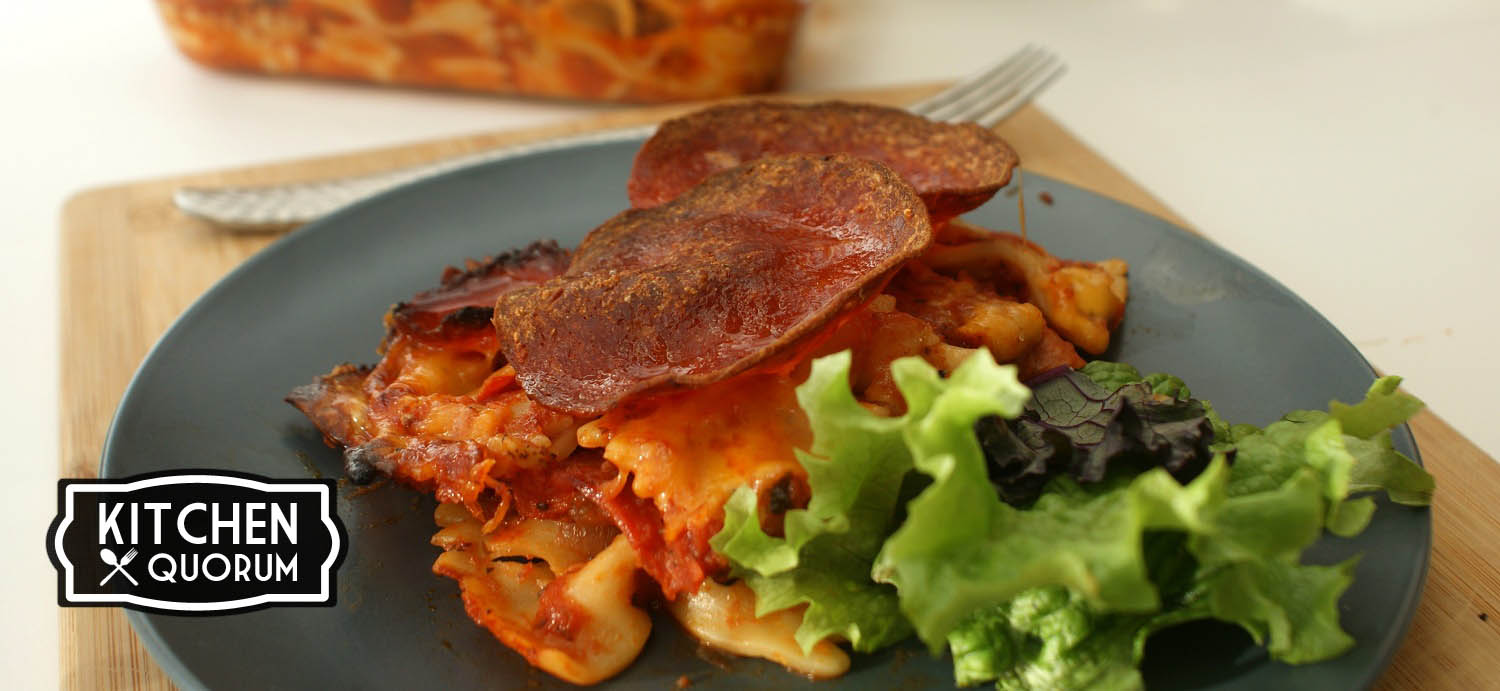 Best Super Bowl Recipe – The Pizza Casserole