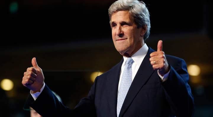 The 15 Faces of John Kerry