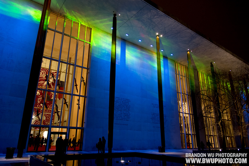 Photo of the Week: Kennedy Center Northern Lights