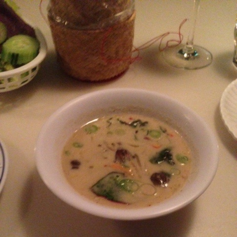 Tom Kha Het at LIttle Serow