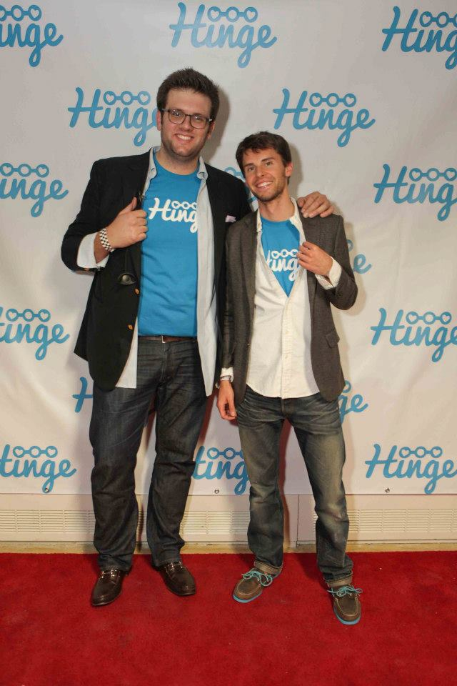Hinge Founders, Bennett Richardson and Justin McLeod