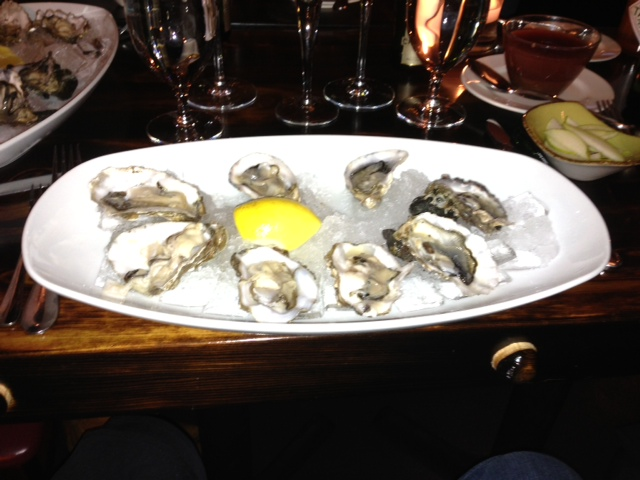 Raw Oysters at Tel'Veh