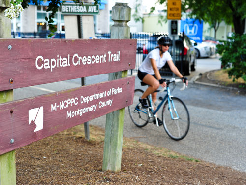 Capital Crescent Trail - Best Running Paths in DC