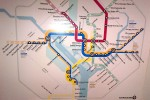 DC Metro Map from 1983