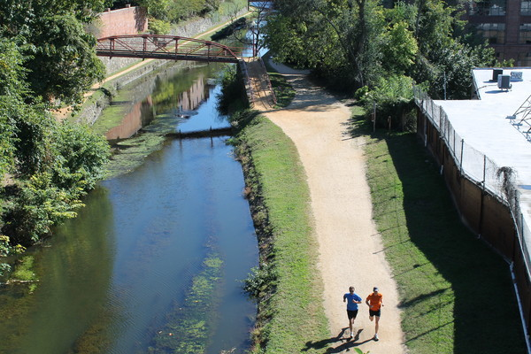 C&O Canal - Best Running Path in D