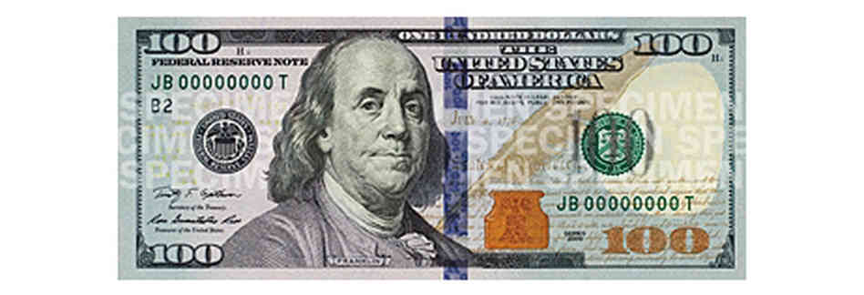 The New 100 Dollar Bill