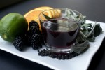 burnt blackberry sangria