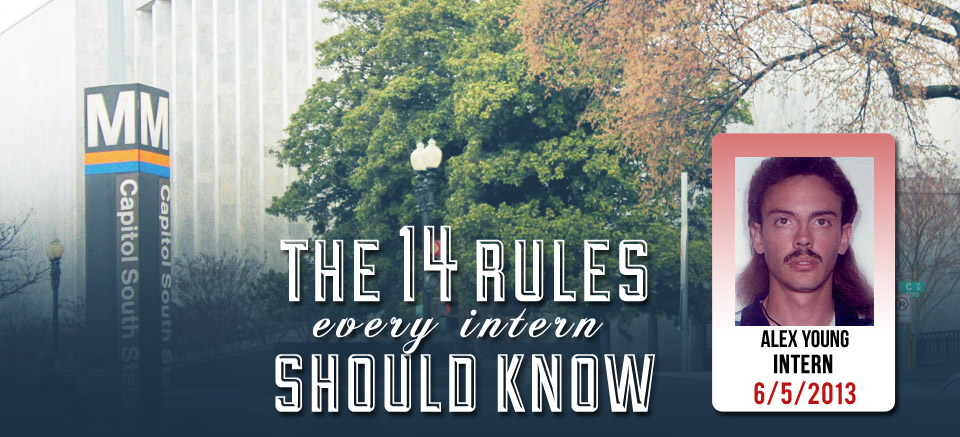 14 Rules of Every Intern Should Know