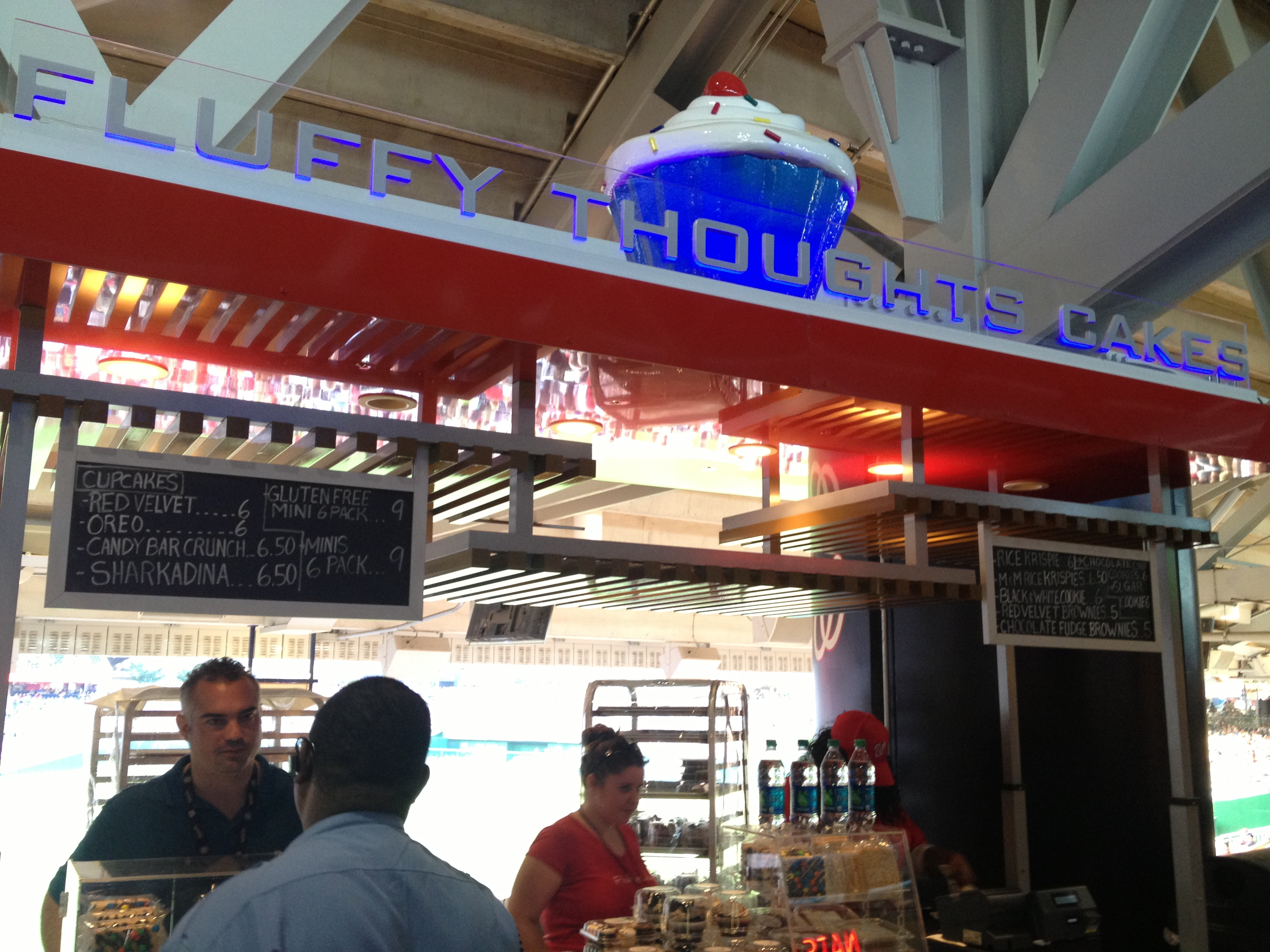 Fluffy Thoughts Cupcakes and Sweet Treats Now at Nationals Ballpark