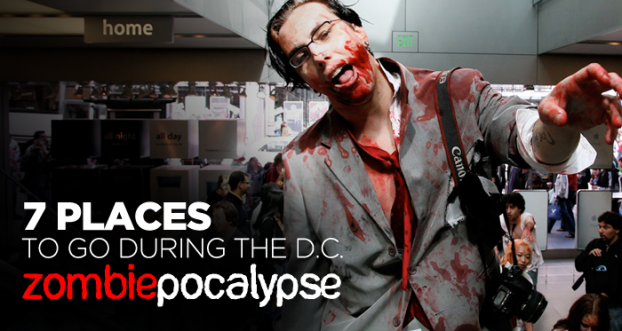 7 places to go during the Zombiepocalypse in D.C.