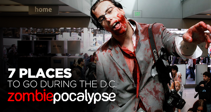 7 Places To Go During The DC Zombiepocalypse