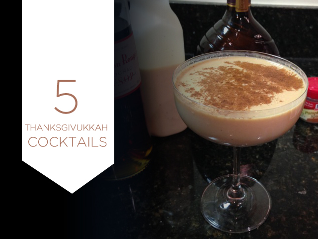 5 Thanksgivukkah Cocktails