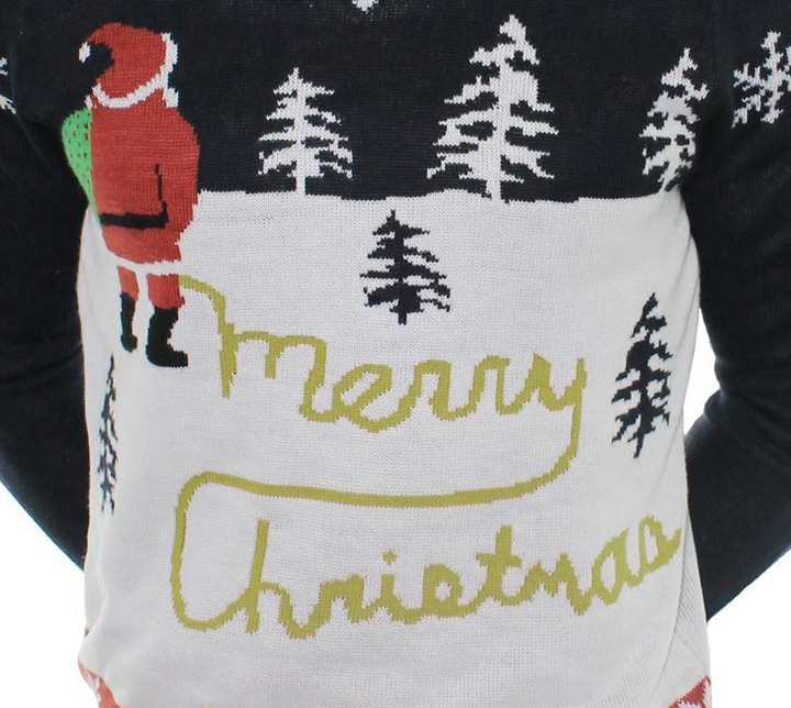 Ugly Christmas Sweater You Need to Buy Right Now - Yellow Snow Sweater