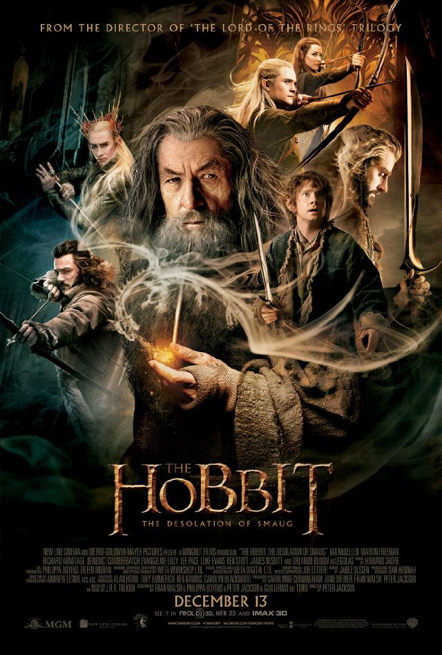 'The Hobbit: The Desolation of Smaug' Fun but Long-Winded
