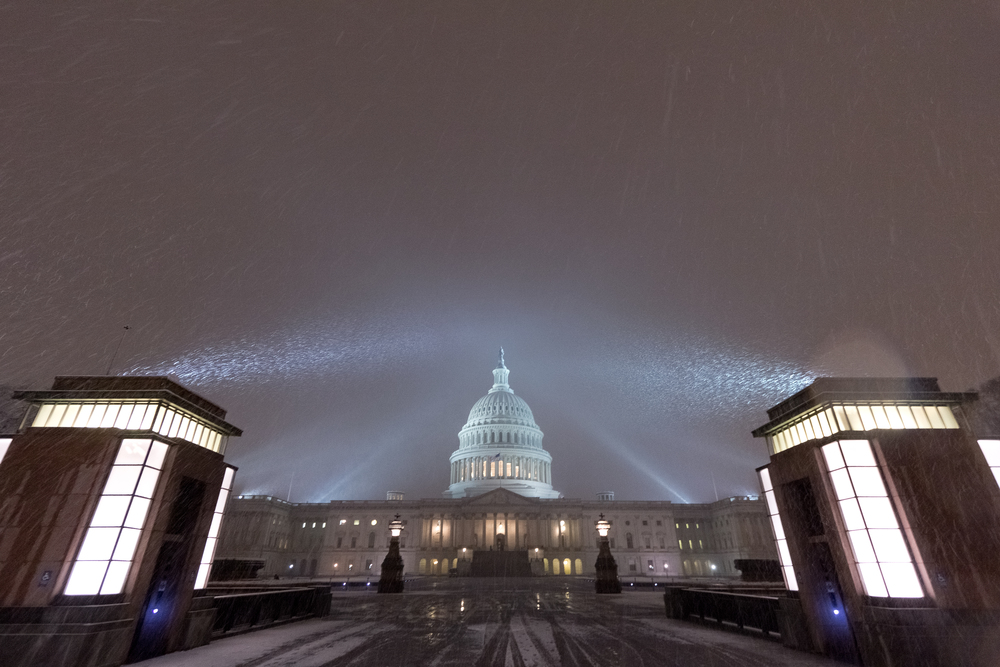 Capitol Hill In the Snow
