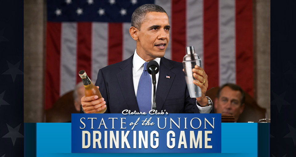 Our 2014 State of the Union Drinking Game