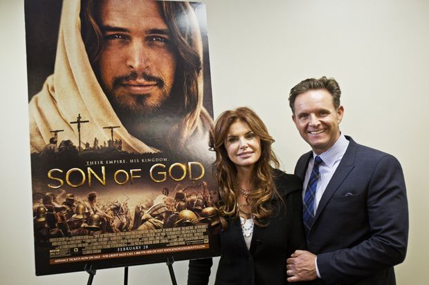 """Our Interview With Mark Burnett & Roma Downey For """"Son of God ..."""