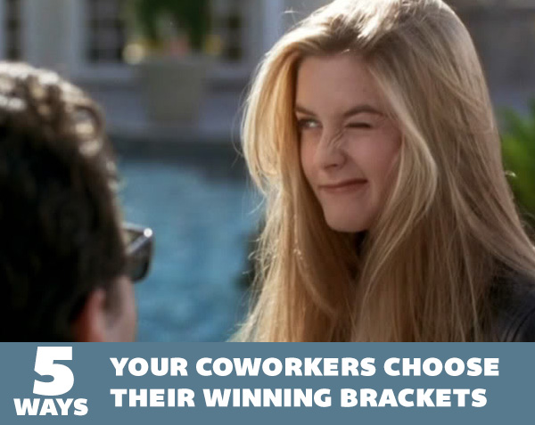 5 Ways Your Coworkers Choose Their Winning Brackets