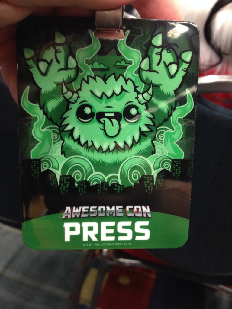 Awesome Con Press Pass
