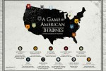 Game of Thrones American Map