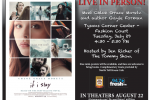 IF I STAY event flyer