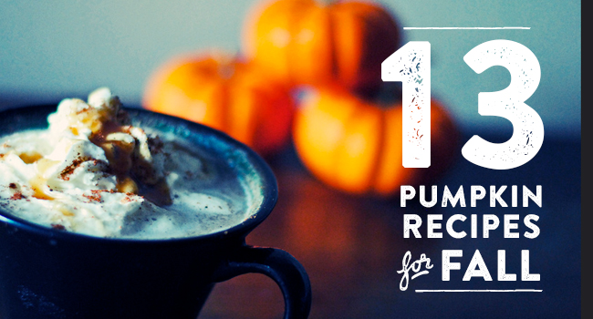 13 Pumpkin Recipes for Fall