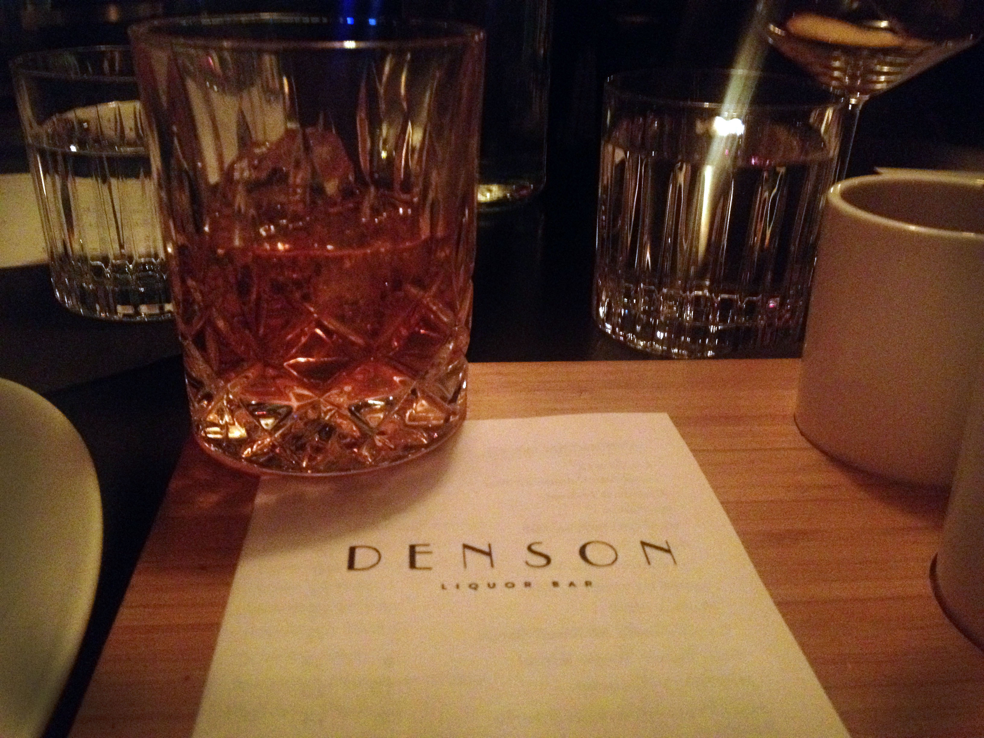 Denson Liquor Bar Debuts
