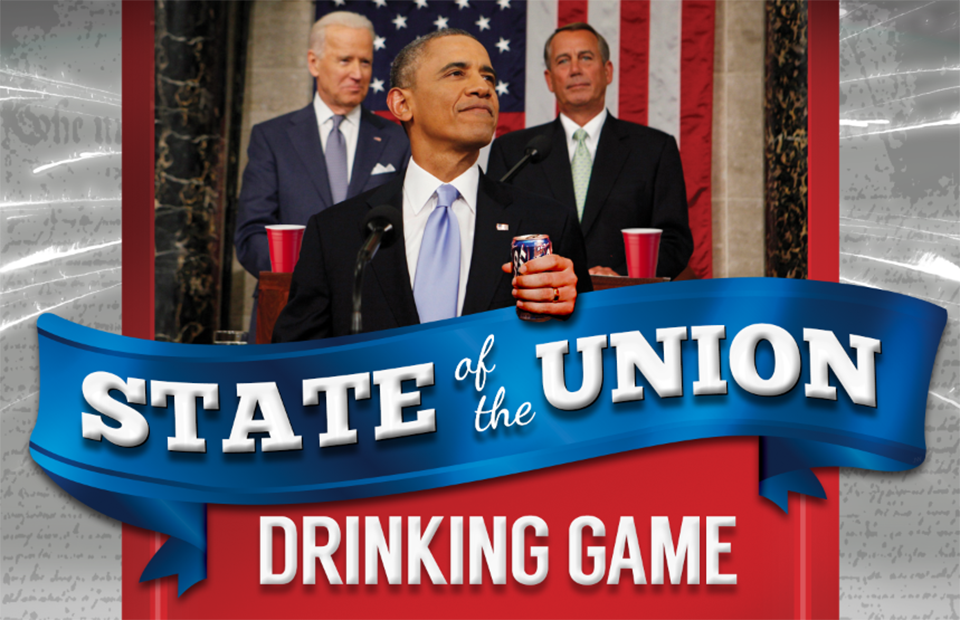 Our 2015 State of the Union Drinking Game