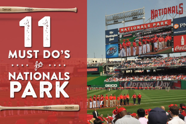 Nationals Park Must Dos