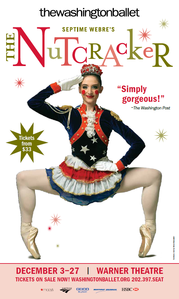 GIVEAWAY: Tickets to Washington Ballet's The Nutcracker