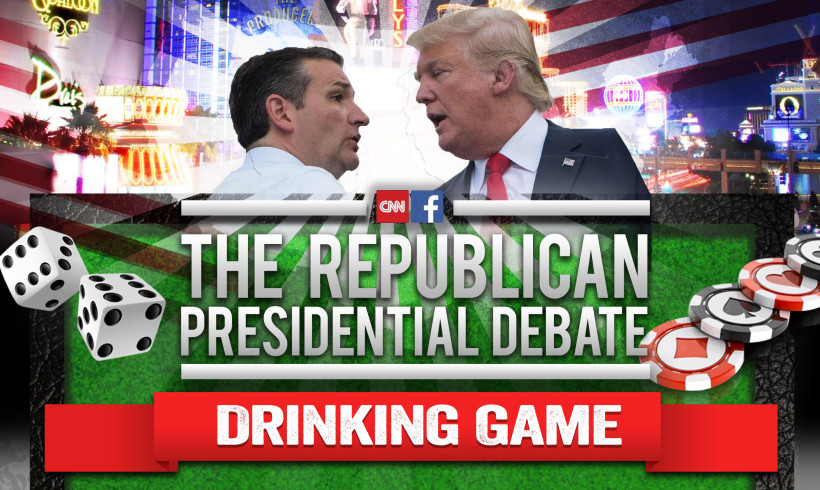The Last GOP Debate Drinking Game of 2015