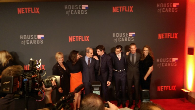 "DC: ""House of Cards"" Red Carpet – Tighter lips than the NSA"