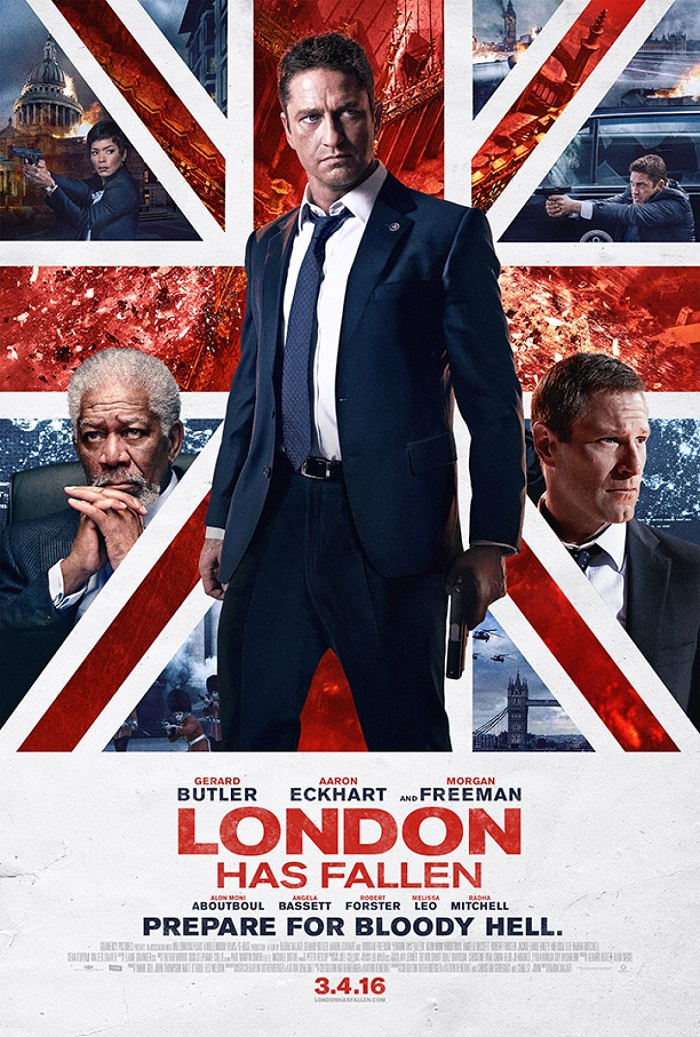 Giveaway: London Has Fallen – March 2