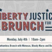 July 4th – Liberty, Justice and Brunch for All