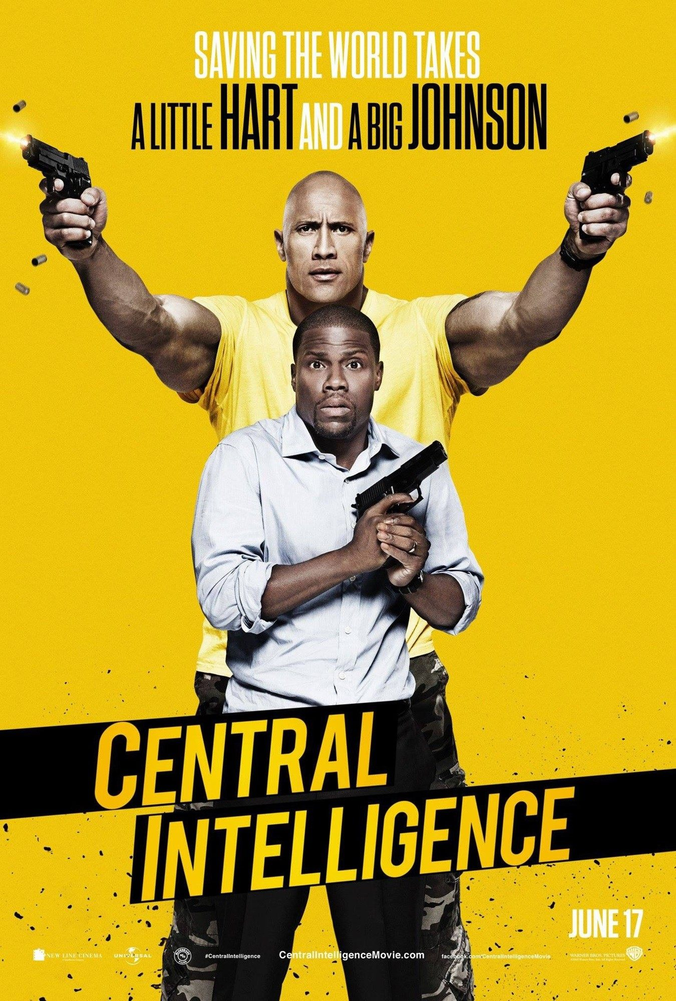Central Intelligence Review: Less Hart = More Heart