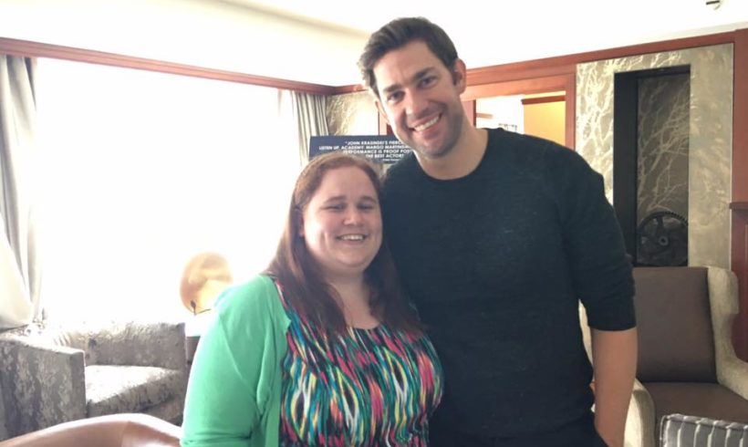 Our Interview With John Krasinski For THE HOLLARS!