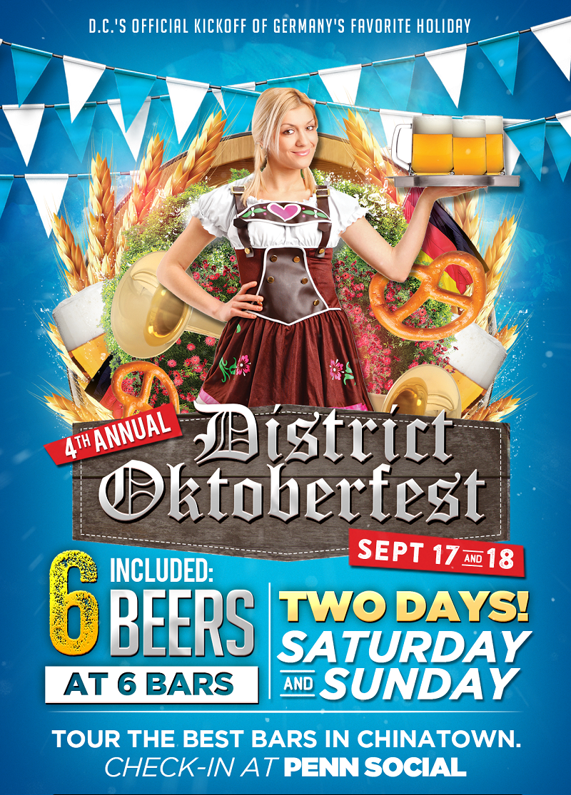 GIVEAWAY: Tickets to the 4th Annual District Oktoberfest!